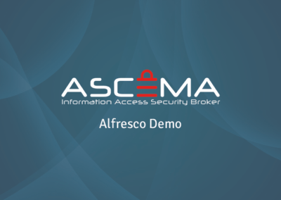 Ascema Data Discovery for Alfresco- Find, Tag and Move your Sensitive Files
