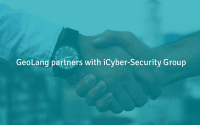 GeoLang partners with iCyber-Security Group