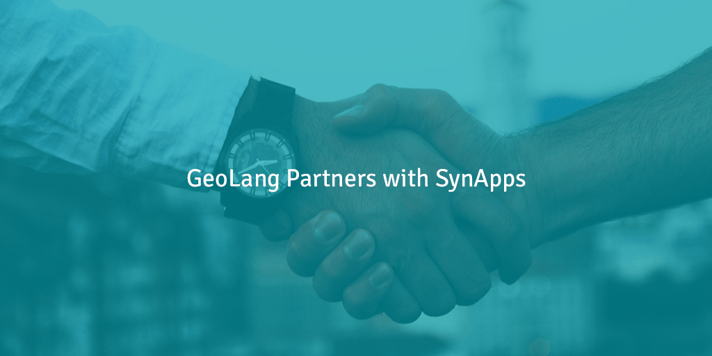 GeoLang Partners With SynApps