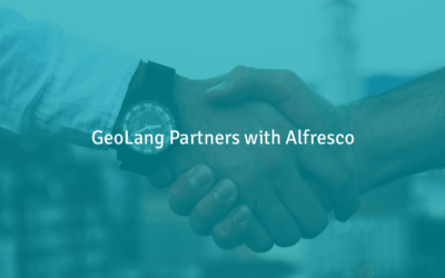 GeoLang Partners With Alfresco