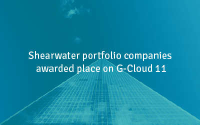 Shearwater portfolio companies awarded place on G-Cloud 11