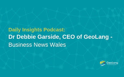 The Importance of Data Security – Daily Insights Podcast with Dr Debbie Garside, CEO of GeoLang