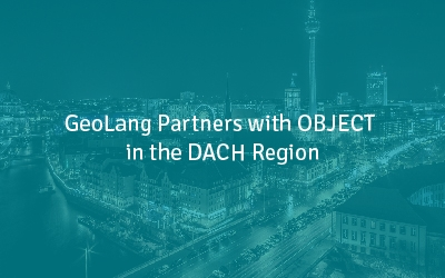 GeoLang Partners with OBJECT in the DACH Region